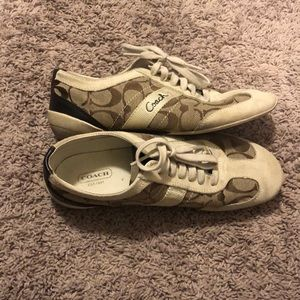 Coach shoes-worn only a few time